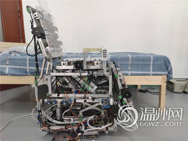 温州大学在全国大学生机械创新设计大赛中名列前茅